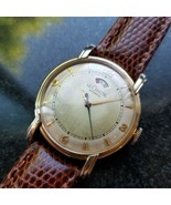 Le Coultre 1950s 33mm 10K Gold-Filled Mens Bumper Automatic cal.481 Swis... - $1,782.00