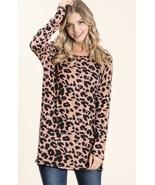 Womens Brick Leopard Top Small/Medium - $10.00