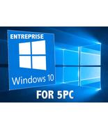 Windows 10 Enterprise 32/64-Bit for 5PC- (2010,0R 2016 LTSB ,2019 LTSC) - $39.00