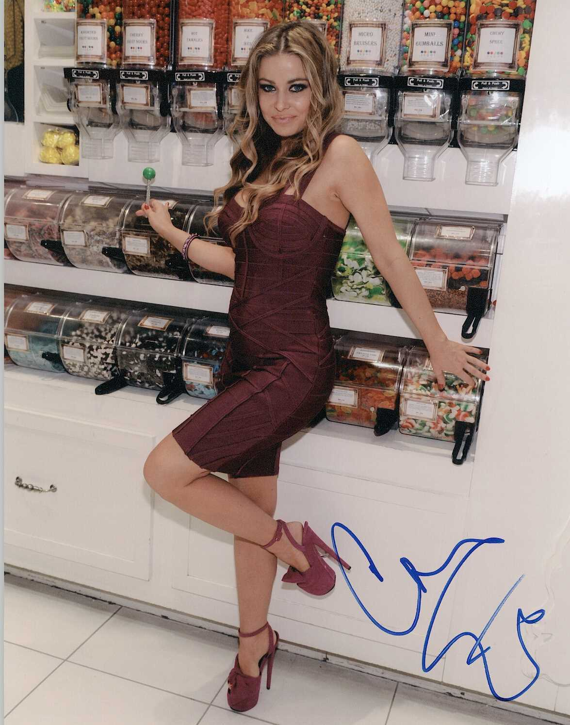 Primary image for Carmen Electra Signed Autographed Glossy 8x10 Photo