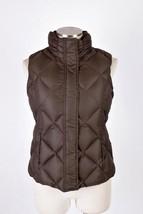 EDDIE BAUER Goose Down 700 Fill Puffer Vest Sleeveless Field Jacket Wome... - $24.74