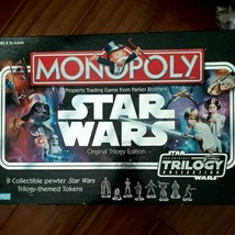 Monopoly by Parker Brothers Star Wars Original Trilogy Edition Board Game - $14.84