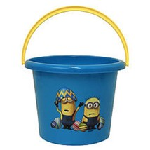 Despicable Me Minion Plastic Easter Beach Bucket w Handle NEW - $11.89