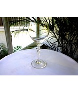Gorham Crystal Ariana Pattern Clear Wine Glass - $9.90