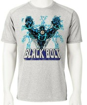 Black Bolt Dri Fit graphic T-shirt moisture wicking SPF retro comic sport tee image 1