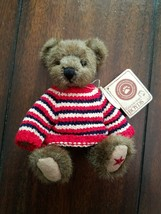 Boyds Bears Plush PATRICK BEARSVELT Fabric T.J's Best Dressed 913966 - $5.94