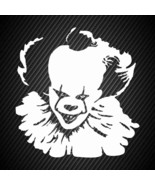 car00428| Decal  Pennywise clown - $3.25+