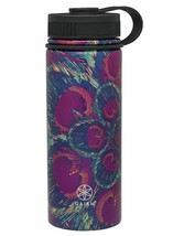 NEW Gaiam 18 Oz. Stainless Steel Water Bottle for Hot or Cold Drinks NWT