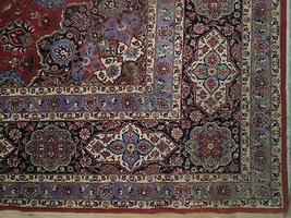 11x17 Red Traditional Handmade Fine Quality Sheik Safi Najaf Persian Rug image 7