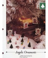 Angelic Ornaments Vanessa Ann Cross Stitch Pattern Leaflet - $0.90