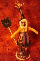 Vintage inspired Spun Cotton Halloween girl image 1