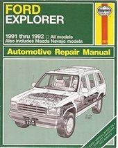 Ford Explorer & Mazda Navajo Automotive Repair Manual/All Ford Explorer ... - $14.97