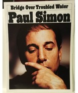 Paul Simon Bridge Over Troubled Water US  Reprint Sheet Music - $4.99