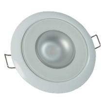 Lumitec Mirage - Flush Mount Down Light - Glass Finish/White Bezel - 4-Color ... - $122.81