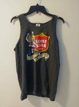 Mens Sleeveless tank top Lone Star Beer graphic t-shirt Size Medium - $10.00