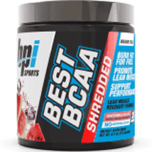 pbi Sports BEST BCAA -SHREDDED- Watermelon Ice 25 servings Exp. 07/2022 ... - $25.00