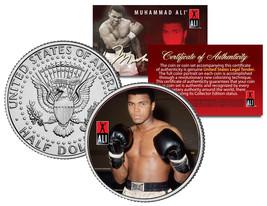 """Muhammad Ali """"Gloves"""" JFK  Kennedy Half Dollar US Coin *Officially Licen... - $8.86"""