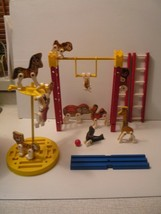 fisher price 1963 Junior CIrcus 902 & Wooden Circus Wagon Complete - $133.65