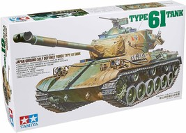TAMIYA JGSDF Type 61 Tank 1/35 Military Miniature Series No. 35163 Model... - $25.02