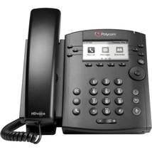 Polycom VVX 300 IP Phone - 6 x Total Line - VoIP - Speakerphone - 2 x Ne... - $101.77