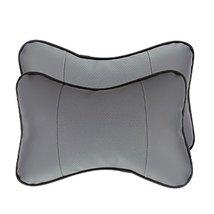 NUBEN Car Seats Neck Pillow Headrest Neck Support Cushion PU Leather Cot... - $11.43