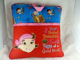 Jake & Izzy The Never land Pirates Pillow for carrying book in pocket 15... - $19.79