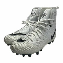 Nike Force Savage Elite TD Lineman Football Cleats White Black Sz 14 NEW - $37.37