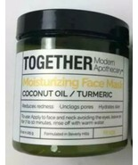 Together Modern Apothecary Moisturizing Face Mask Coconut Oil Turmeric 8... - $19.50