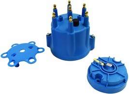 A-Team Performance 6-Cylinder Male Pro Series Distributor Cap & Rotor Kit BLUE image 2