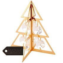 Matashi Christmas Tree Ornament, Clear Crystals - $21.15