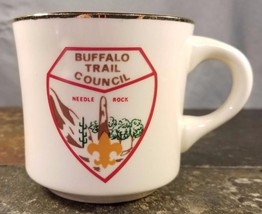 Boy Scouts (BSA) Buffalo Trail Council Needle Rock, Texas Coffee Mug / Tea Cup - $7.91