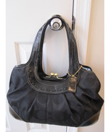 Coach 13610 black signature satchel thumbtall