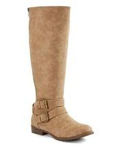 ShoeDazzle Women's Vivica Taupe Vivica Boot Size 6 - $44.50