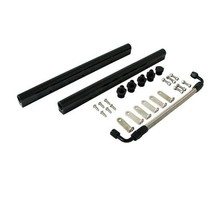 LS LS3 LS7 Top Street Performance 81009-BK Black Fuel Rail with Middle Pipe