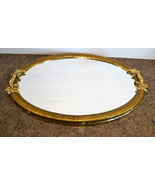 Mike and Ally Chateau Metal Mirrored Vanity Tray - $275.00