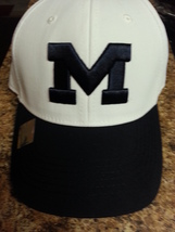 Michigan Wolverines NCAA Top Of The World Stretch Fitted Hat NEW! - $9.99