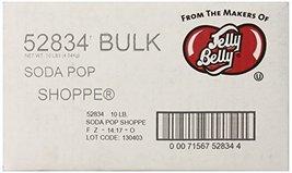 Jelly Belly Soda Pop Shoppe Jelly Beans, Assorted, 10-Pound Box - $85.95