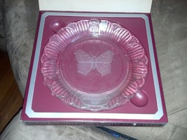 Vintage Goebel Mother's Day Crystal Glass Plate Circa 1979 First Edition - $15.42