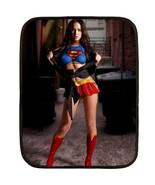 Megan fox superwoman blanket thumbtall