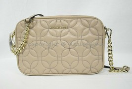 Michael Kors 32H8TF5M8T Leather Quilted Medium Camera / Shoulder Bag in ... - $139.00