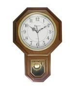 Timekeeper 180WAGM Essex 18.75 Modern Pendulum Wall Clock (Faux Wood) - $65.56