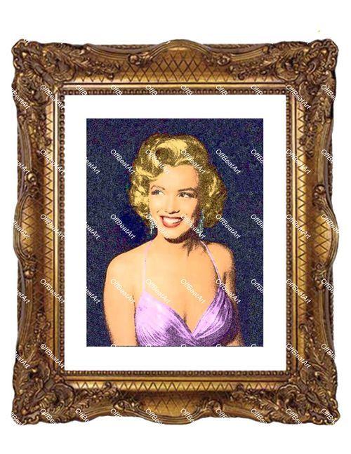 Abstract Hollywood Art Marilyn Monroe Canvas 3