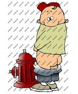 Rockabilly Cool Guitar Fire Hydrant Waterslide Decal - $2.95