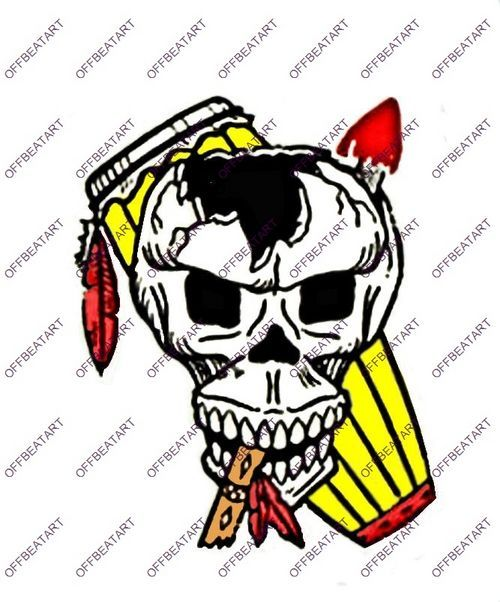 Indian scull drum