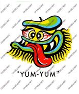 Hot Rat Rod Vintage Window Decal Impko's Yum-Yum - $2.95