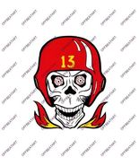 Hot Rat Rod Vintage Window Decal Impko's Lucky 13 - $2.95