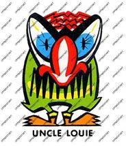 Hot Rat Rod Vintage Window Decal Impko's Uncle Louie - $2.95