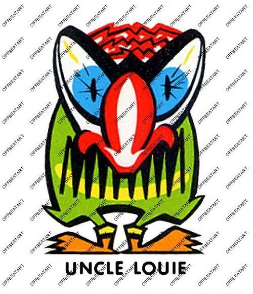 Hot Rat Rod Vintage Window Decal Impko's Uncle Louie