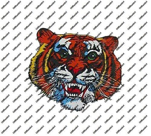 Hot Rat Rod Vintage Window Decal Impko's Presskal Tiger
