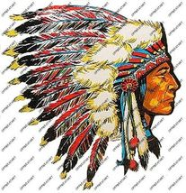 Hot Rat Rod Vintage Window Decal Impko's Indian Chief - $2.95